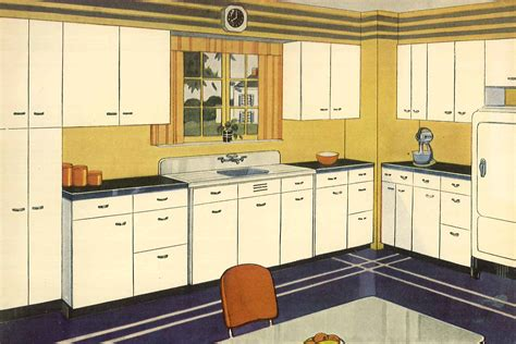 cabinets designs kitchen the rise of the modern kitchen architect magazine 1938