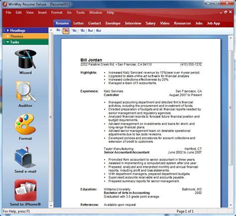 buy winway resume