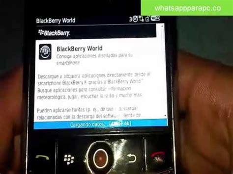 c 243 mo descargar e instalar whatsapp para blackberry