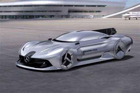 mercedes concept car check out the fierce mercedes benz 2040 streamliner