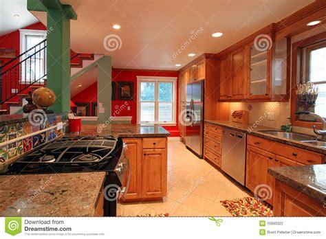 cuisine luxueuse cuisine moderne luxueuse photographie stock image 15990322
