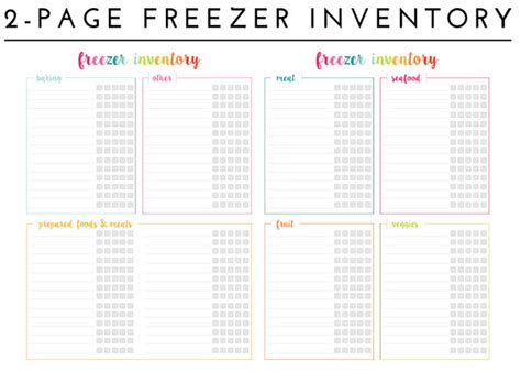 how to print labels from excel organizing the freezer with free printable freezer