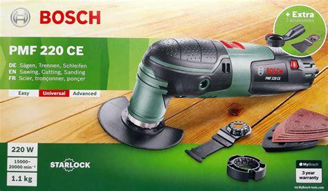 pmf 220 ce multiutensile bosch pmf 220 ce toolshop italia