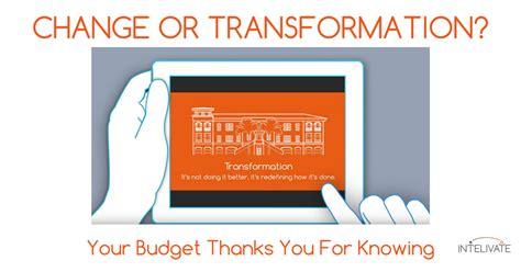 organizational change transformation  critical