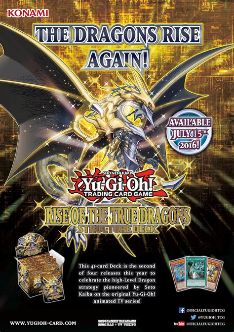 Rise Of The True Dragons Structure Deck Yu Gi Oh