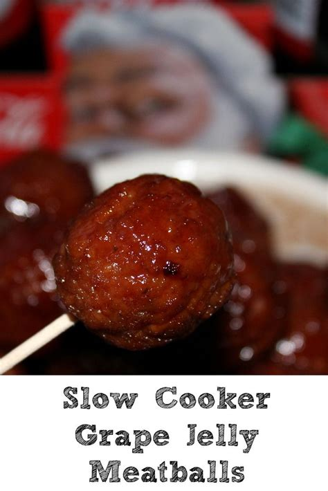 grape jelly meatballs cooker slow recipes recipe crock pot crockpot meatball party bbq appetizer these