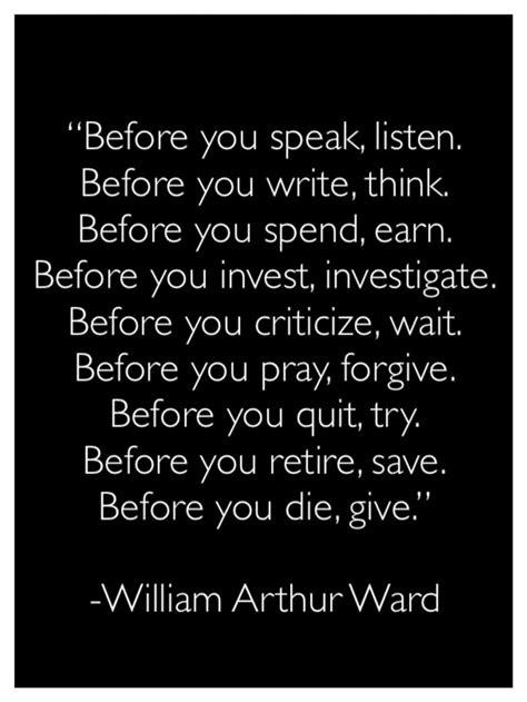 speak listen   write