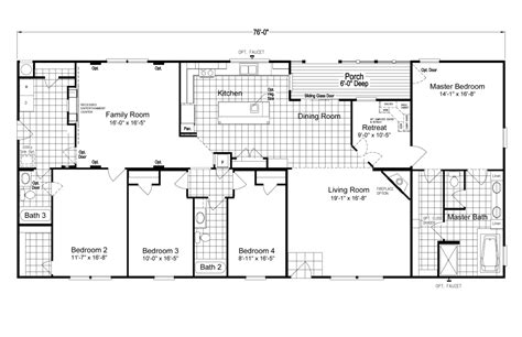 pecan valley  extra wide mlp manufactured home