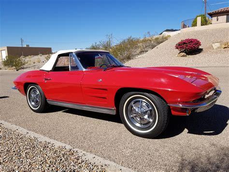 fs  sale  corvette stingray convertible