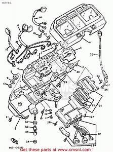 Yamaha Xj750r Seca 1983  D  Usa Meter