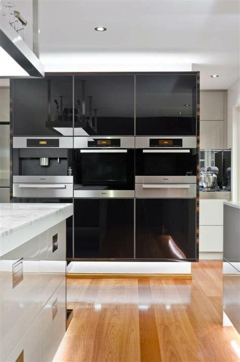 cuisine gris et noir ophrey com cuisine blanche inox prélèvement d
