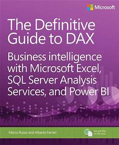 Definitive Guide To Dax  The  Business Intelligence With