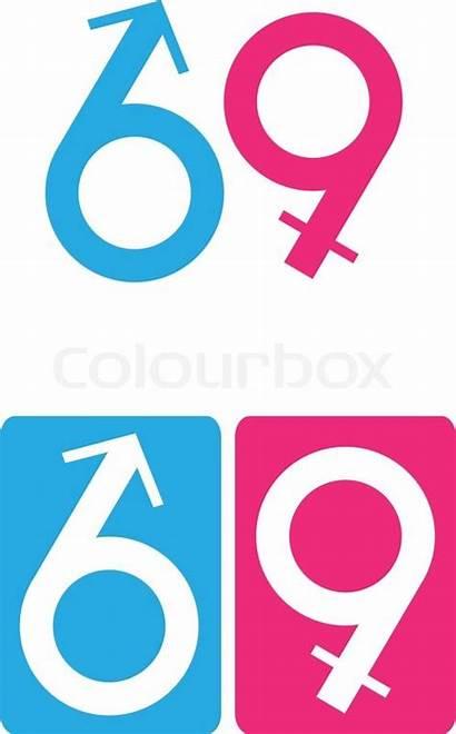 69 Position She He Vector Colourbox