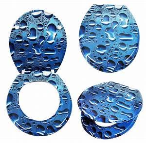 Toilettendeckel Mit Absenkautomatik : wc deckel blau rx09 hitoiro ~ Indierocktalk.com Haus und Dekorationen