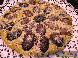 Rezept zum Frühstück Pflaumen Vollkornkuchen backen