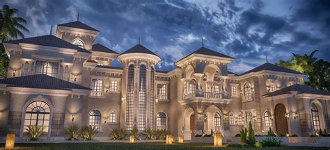 private palace design  doha qatar luxury home