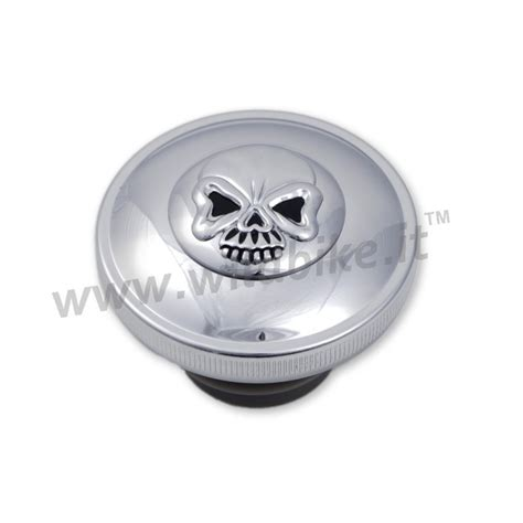 gas cap skull chrome with for harley davidson xl sportster