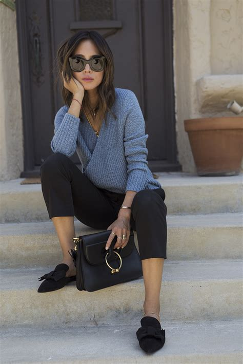plain wide leg jumper lazy l a that doesn 39 t involve denim song of style