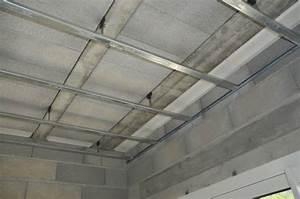 Faire Un Faux Plafond : faire un plafond en placo maison travaux ~ Premium-room.com Idées de Décoration