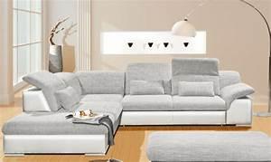 Wohnlandschaft Rund : arizona ecksofa eckgarnitur couch sofa lederoptik eckcouch ~ Pilothousefishingboats.com Haus und Dekorationen