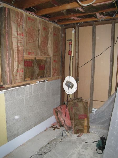 Raised Ranch Basement Bathroom Project   Carpentry   DIY