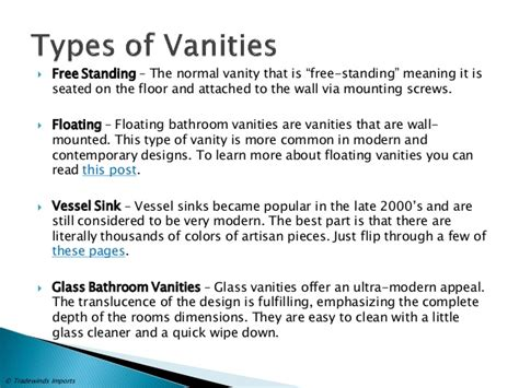 Meaning Of Vanity by The Ultimate Bathroom Vanity Buying Guide