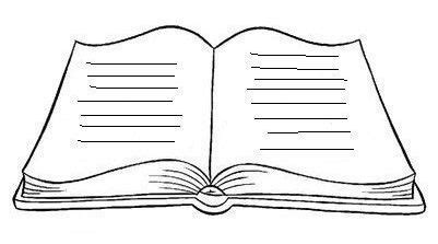 Resultado de imagen de LIBRO ABIERTO PARA COLOREAR Libro