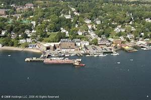 Castine Town Dock in Castine, Maine, United States