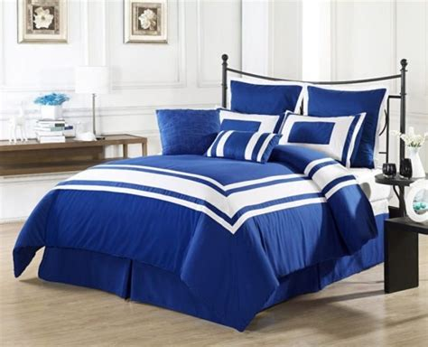 Royal Blue Bedroom by Royal Blue Bedding Sets Linnea Blue