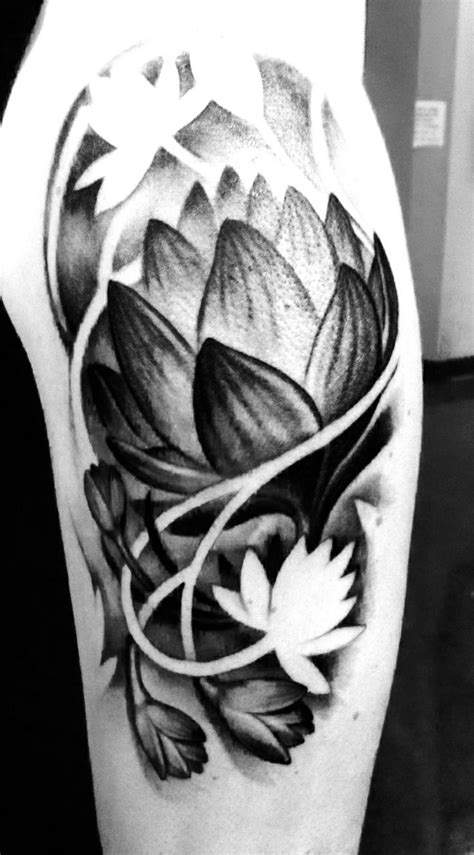 The o'jays Sleeve and Flower on Pinterest | Flower tattoo meanings, Flower tattoo sleeve men