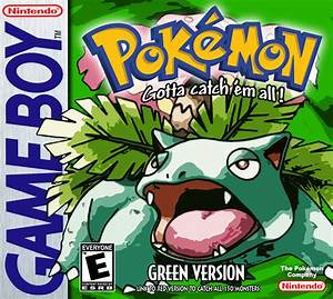 Pokémon Green Version Box Arts