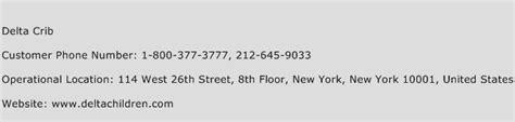 delta customer service phone delta crib customer service phone number toll free