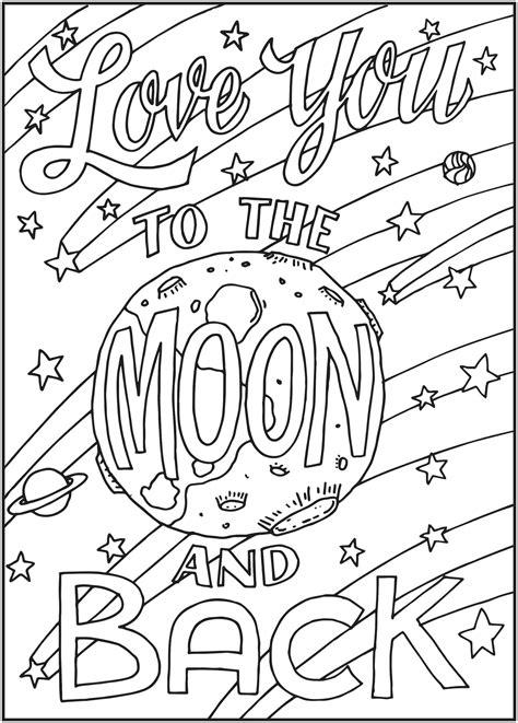 I You To The Moon And Back Kleurplaat by Pnterest Books Best I You To The Moon And Back
