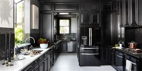 black cabinet kitchen designs amazing black kitchen cabinets that are right on trend for 4653