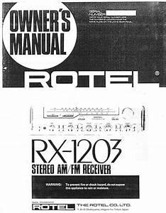 Rx-1203 Manuals