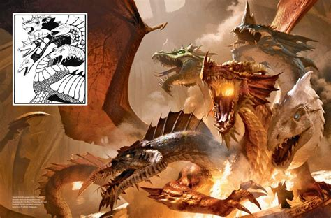 exclusive images reveal  art  arcana  dungeons dragons