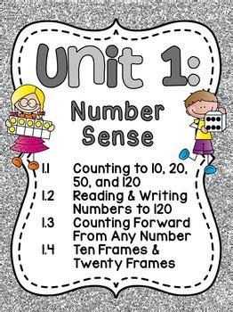 grade math unit  number sense counting