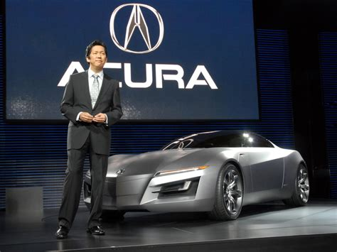 2007 Acura Advanced Sports Car Concept Designer Jon