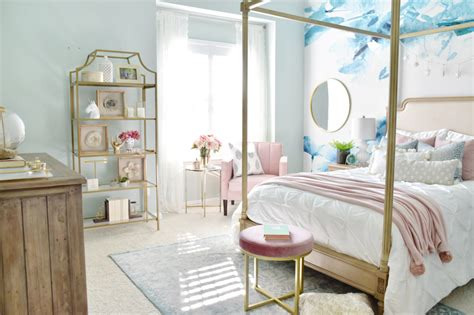 room refresh gallery wall and glam accents