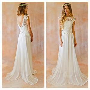 simple flowy lace wedding dress 13 about western wedding With simple flowy wedding dress