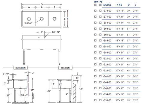 gauge heavy duty triple bowl stainless steel kitchen sinks
