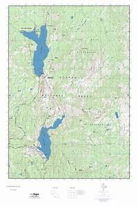 Mytopo Courtright Reservoir  California Usgs Quad Topo Map