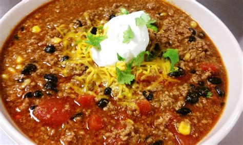 beef and black bean chili spicy beef black bean chili croutons cupcakes
