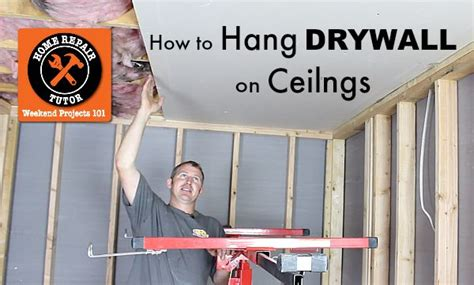 Hanging Drywall On Ceiling Tips by Best 25 Drywall Ceiling Ideas On Repair
