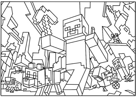 Minecraft Coloring Pages For Your Most Beloved Boy Baby