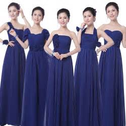 cheap navy blue bridesmaid dresses navy blue bridesmaid dresses chiffon floor length strapless cheap bridesmaid dresses 50
