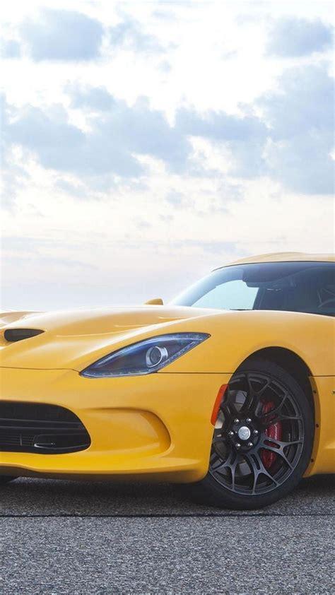 6 Plus Wallpaper Car by Yellow Dodge Srt Viper Gts Car Iphone 6 Plus Wallpapers Hd
