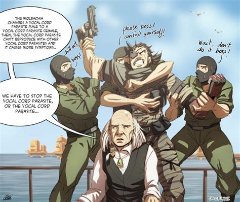 Mgsv Memes - mgsv code talker and the vocal cord parasite by onichan xd on deviantart