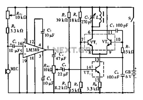 Fidelity Wireless Microphone Circuit Under
