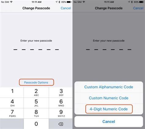 change passcode on iphone quot passcode requriement quot pops on iphone and how to fix it 2418